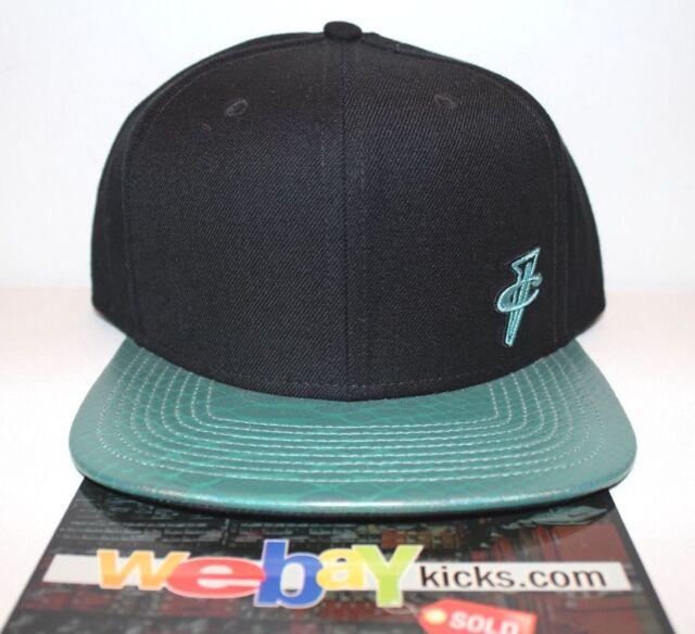 d98f6dbb31f Nike Air Gone Fishing Foamposite One 1 Black Green Snapback Cap Hat ...