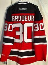 Reebok Premier NHL Jersey Devils Martin Brodeur Red sz L