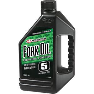 Maxima-5W-Fork-Oil-1-Liter-Bottle