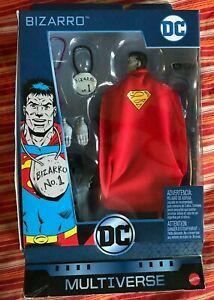 "DC Multiverse Mattel BIZARRO SUPERMAN Walgreens Exclusive Action Figure NIB 6/"""