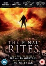 The Final Rites [DVD], Very Good DVD, Briana Evigan, Stephen Dorff, Wes Bentley,