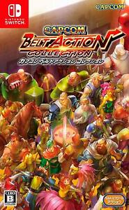 NEW-Nintendo-Switch-Capcom-Belt-Action-Collection-JAPAN-OFFICIAL-IMPORT
