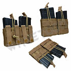 VISM NcSTAR Tactical MOLLE PAL AR10 M1A FAL .308 Double Magazine Pouch Tan