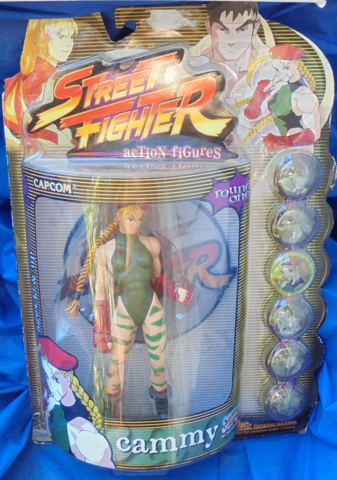 Street fighter cammy mip - action - figur resaurus grüne variante 1. runde capcom