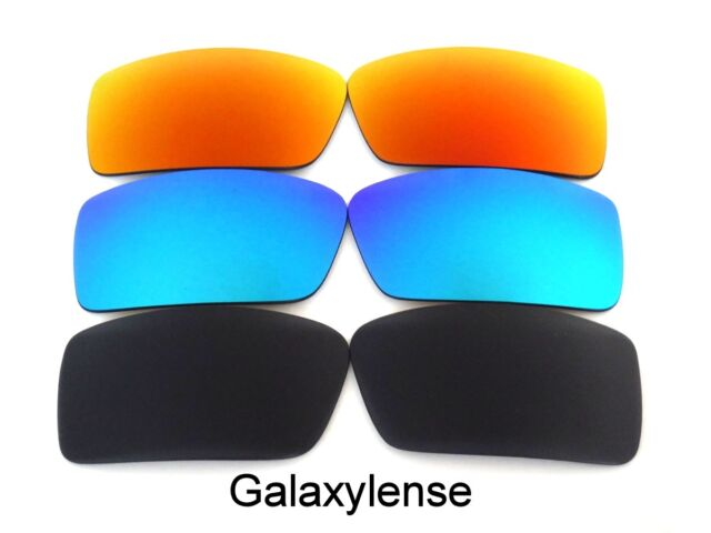 f2321b5922 Galaxy Replacement Lenses for Oakley Gascan S Small Sunglasses  Black blue red