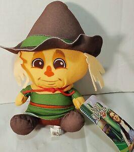 "Scarecrow Wizard Of Oz Big Head 7"" Plush NWT Stuffed Scarecrow Toy Dorothy"