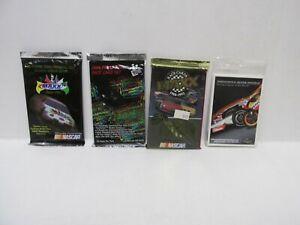 Vintage PressPass Maxx Racing Nascar 4 Card Pack Lot cs247