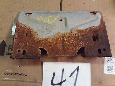 1969-72 Oldsmobile Cutlass 442 Rear Bumper Gas Door License Plate Door Hardware