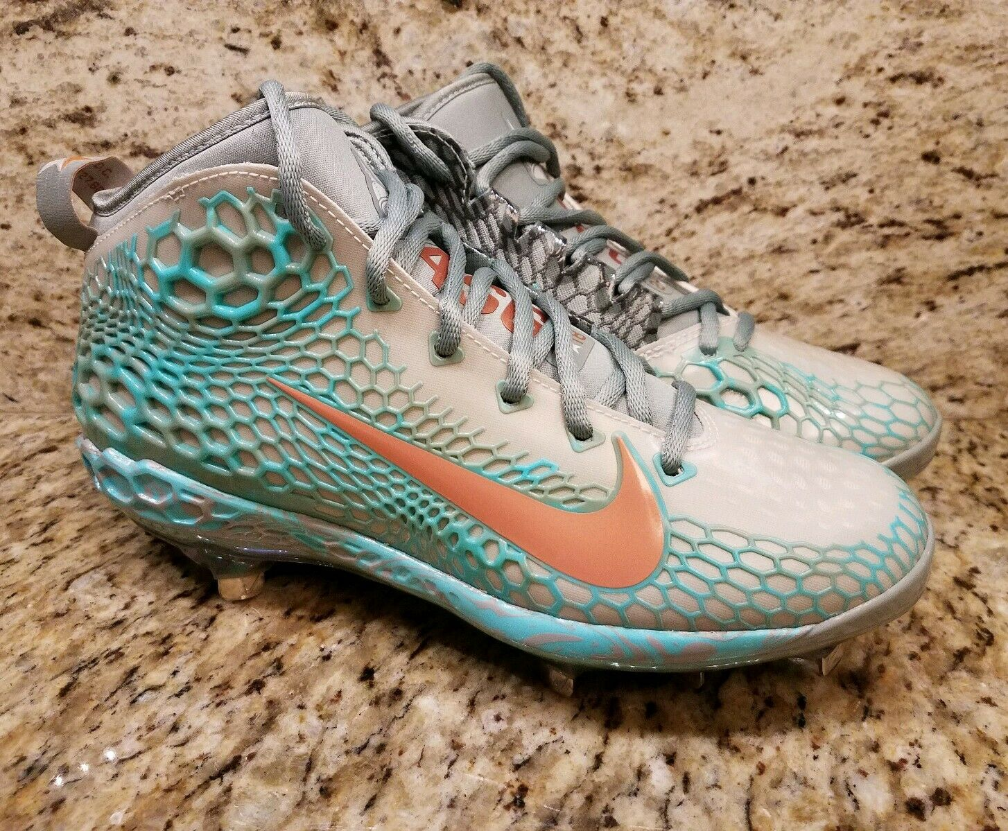Nike Zoom Trout 5 2018 All Star Game Exclusive BSBL Cleats AH4706-033 SZ 8.5 NEW