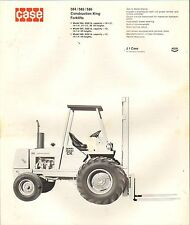 1970s VINTAGE CATALOG #1910 - CASE 584C/585C/586C CONSTRUCTION KING