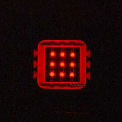 2pcs 10W 10Watt Red High Power LED Light Lamp Buld Grow Growth 630nm 500LM DIY