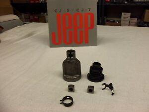 Jeep-CJ-power-steering-shaft-coupling-kit