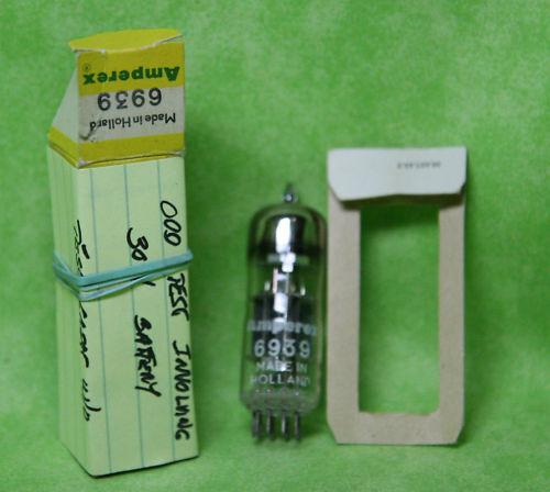 (1) Amperex 6939 Tube Nos/nib Holland 1959!