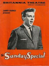 """Billy Fury Great Yarmouth 16"""" x 12"""" Photo Repro Programme cover Poster"""