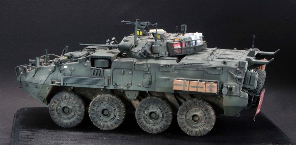 Egen skräddarsydd modellllerl trumpetare Canadian LAV -III Afghanistan 1  35 (förhandsorder)