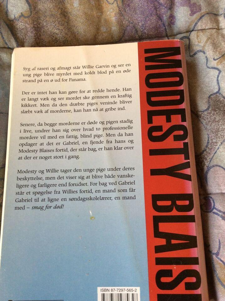 Modesty Blaise- smag for død, Peter O. Donnel., anden bog