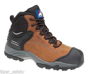 Waterproof Safety CompositeToe Cap S3 Nubuck Himalayan Metal Free Boots 5209