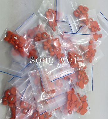 1set=17pcs Clarinet pads Orange leather Bb Soprano pads part