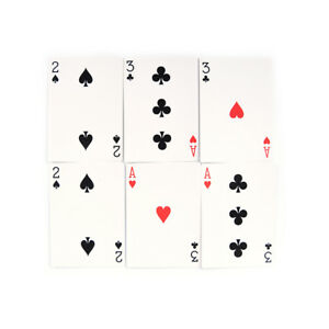 2-Set-Magic-3-Three-Card-Trick-Card-Easy-Classic-Magic-Playing-Cards-For-FunPYB