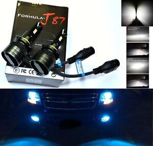 LED Kit G8 100W H12 9055 8000K Icy Blue Two Bulbs Fog Light Replacement Upgrade