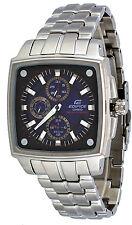 Casio Edifice EF331SB-2AV Men's Solar Powered Multi Function Blue Dial Watch