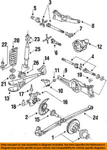 ford oem 84 96 f 150 frame housing left e2tz5a306j ebay. Black Bedroom Furniture Sets. Home Design Ideas