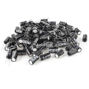 50 Pcs 470uF ± 20% 63V 13mm x 21 mm Radial Lead Aluminum Electrolytic Capacitors