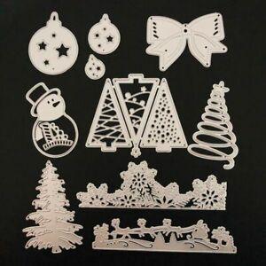 Stanzschablonen-Die-Cuts-Card-Making-Scrapbooking-Template-Punch-Christmas-Ball