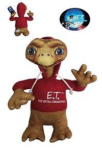 E-T-Et-Extrateresstres-Peluche-Sudadera-Roja-40cm-Version-Grande-Orig-Oficial