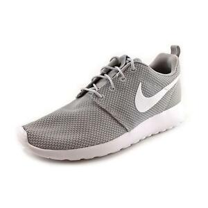 size 40 f2b02 a4255 Nike Roshe Run One Mens Shoes 10 Wolf Grey White 511881 023