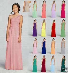 Image Is Loading Gorgeous Bridesmaid Dress Junior Flower Dresses Princess