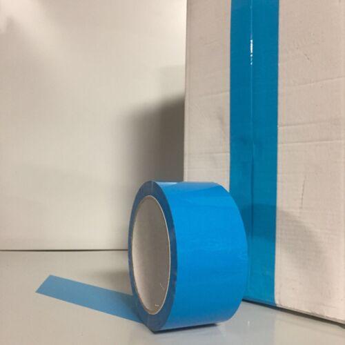 Klebeband Paketband Packband bunt hellblau PP Feuchtigkeitsbeständig 50mm x 66m