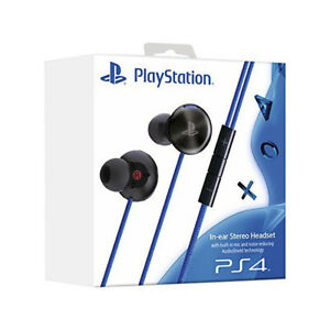 Sony PlayStation Noise Reducing In-Ear Stereo Headset with Built-In Mic