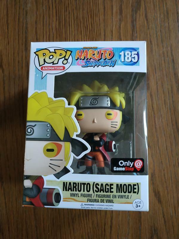 Figurine Funko POP  Animation Naruto Shippuden 185 Naruto Sage Mode