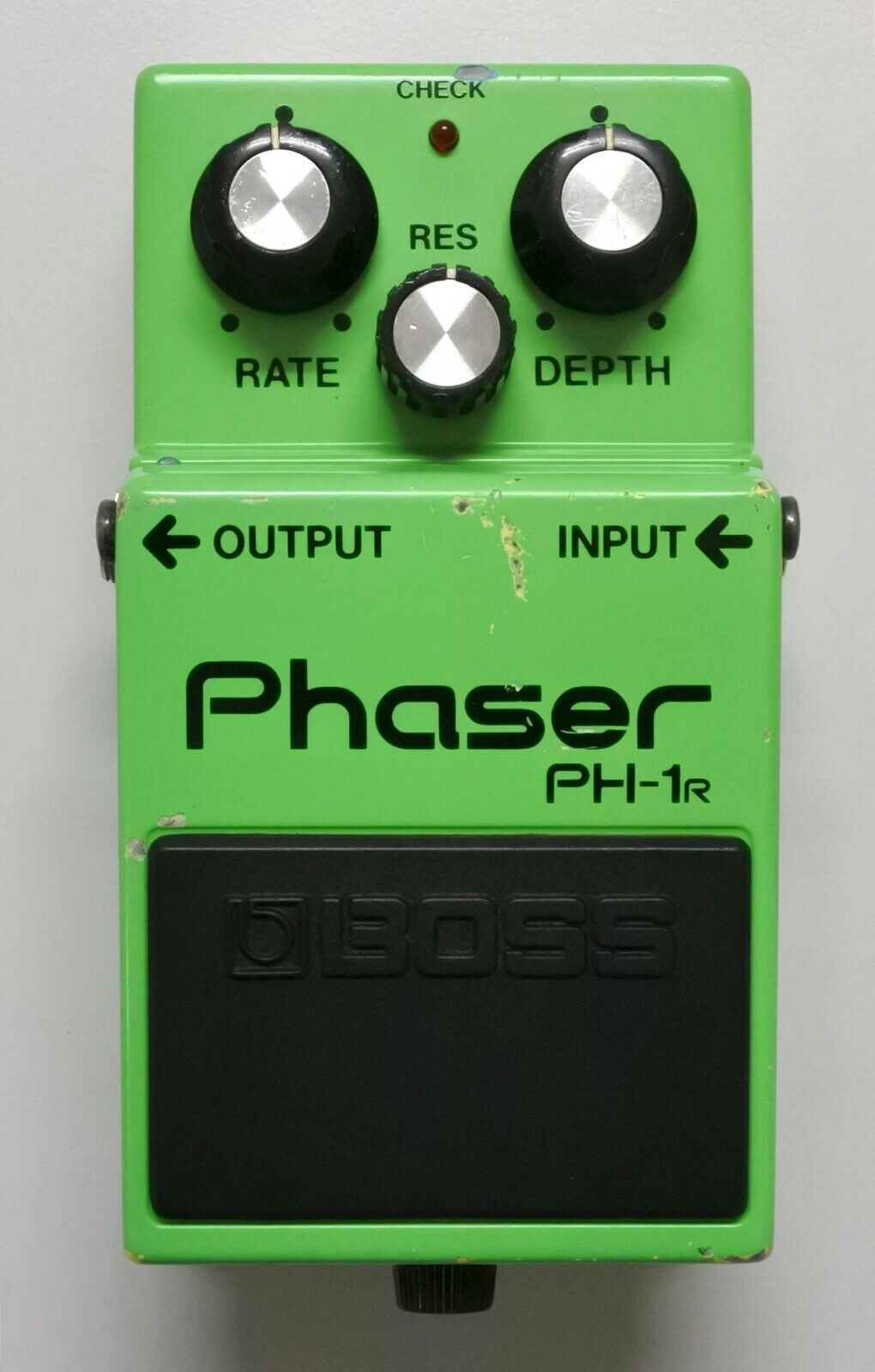 BOSS PH-1R Phaser Vintage Guitar Effects Pedal made in Japan 1983  46