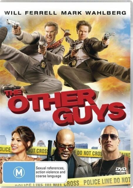 The Other Guys DVD Will Ferrell Mark Wahlberg - REGION 4 AUSTRALIA