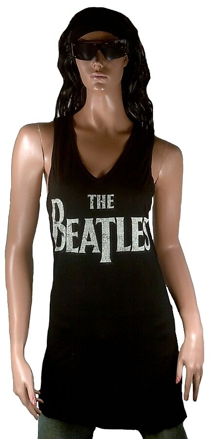 Amplified Official The Beatles Rock Star Vip Débardeur Mini Robe M L 40