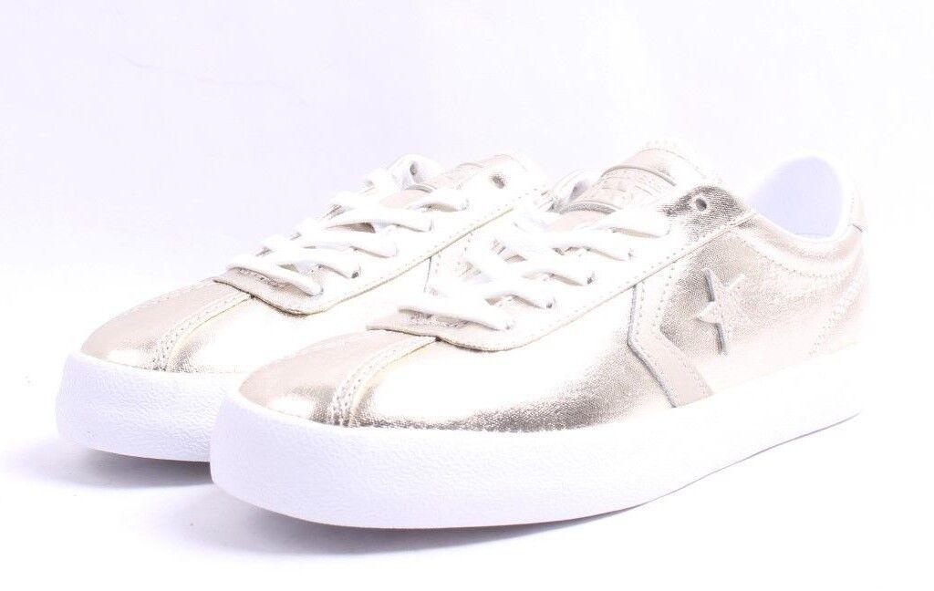 Converse Breakpoint OX Sneaker C Light Gold Casual Sneaker OX Women SZ 6 - 11 b19553