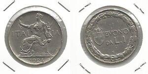 VITTORIO-EMANUELE-III-Buono-da-1-Lira-1924-5