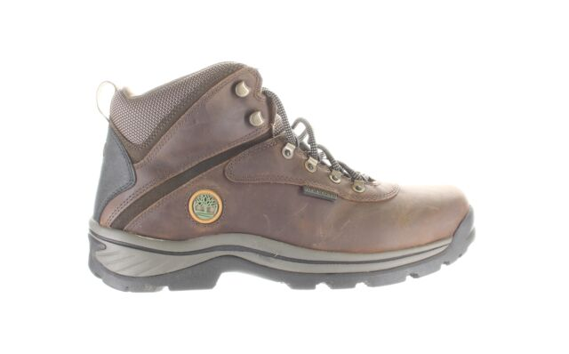 Timberland PRO Mens White Ledge Medium Brown Hiking Boots Size 11.5 (Wide)
