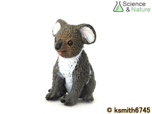 NEW S/&N SMALL KOALA plastic toy wild zoo Australian animal marsupial