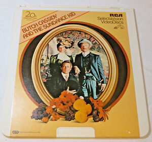 Butch-Cassidy-and-the-Sundance-Kid-RCA-SelectaVis-CED-Video-Disc-videodisc-movie