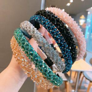 Women-039-s-Rhinestone-Hairband-Crystal-Beads-Headband-Hair-Band-Hair-Hoop-Party
