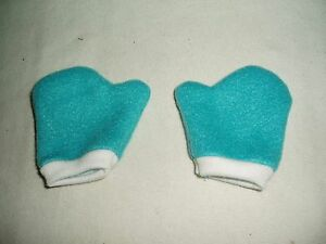 Teal-Mittens-18-034-Doll-Clothes-Fits-American-Girl-Dolls