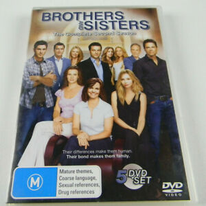 Brothers-And-Sisters-Season-2-DVD-2008-4-Disc-Set-R4-PAL