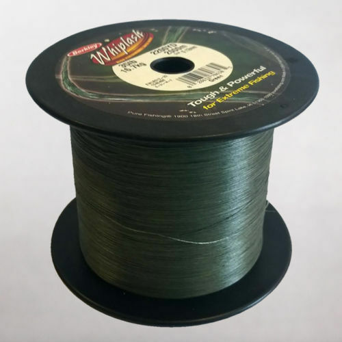 Berkley Whiplash BulkSpool BulkSpool BulkSpool Dyneema LoVis verde BRAID 150lb .30mm 2000 m 2200 Yds 9ebf88