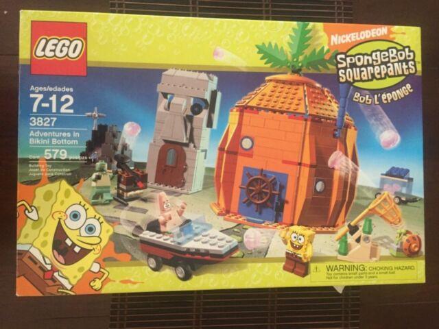 LEGO 3827 Spongebob Squarepants Adventures in Bikini Bottom