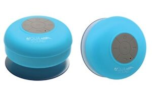 Details about Aduro AQUA Sound Bluetooth Shower Speaker with Mic and  Controls - Blue