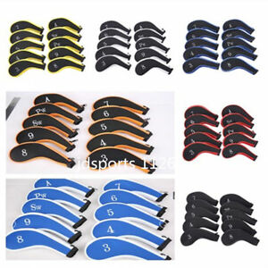 10X-Neoprene-Golf-Club-Headcover-Zipper-Iron-cover-for-Vapor-Pro-XHOT-Taylormade