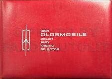 1964 Olds Color Upholstery Dealer Album 442 Cutlass F85 98 88 Starfire Jeftire